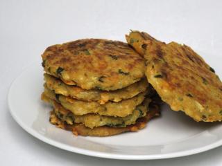 Selerowe placki z serem