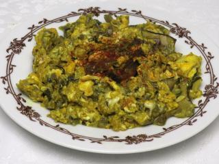 Pikantna grzybowa jajecznica