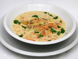 Jesienna śmietanowa zupa