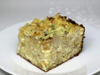 Zapiekany kalafior z ziemniakami i serem