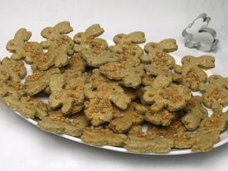 Pełnoziarniste wielkanocne ciasteczka