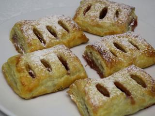 Błyskawiczne truskawkowe ciasteczka