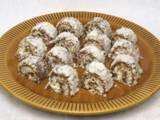 Kokosowe roladki