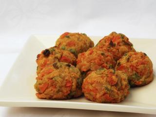 Pieczone warzywne kuleczki