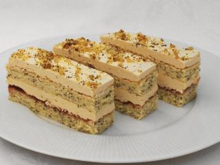 Karmelowe makowe ciasto