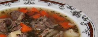 Zupy mięsne