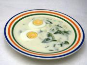 Zupa z sałatą