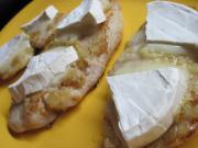 Piersi z kurczaka z serem z białą pleśnią