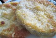 Smażona cukinia z mortadelą i serem