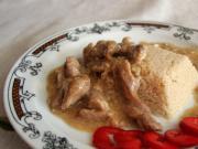 Wieprzowe udo z ostrygowym sosem