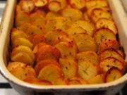 Ziemniaki zapiekane z porem