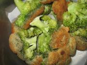 Smażony brokuł