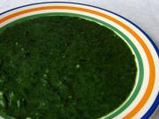 Szpinakowa potrawka z mrożonego szpinaku