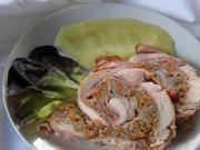 Rolada z kurczaka z mielonym mięsem