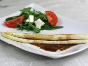 Szparagi w balsamicznym sosie maślanym