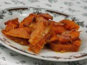 Zapiekany słodki ziemniak z dynią hokkaido