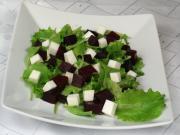 Sałatka ćwikłowa z kozim serem