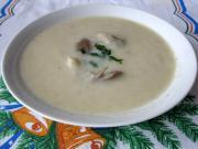 Delikatna zupa z boczniaków