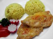 Piersi z kurczaka pod serową pierzynką