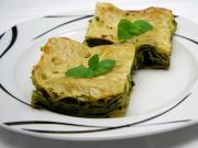 Szpinakowe lasagne