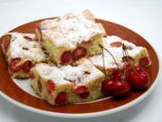 Tradycyjne czereśniowe ciasto