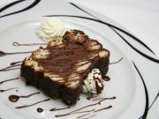 Łagodny czekoladowy deser
