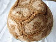 Kasztanowo twarogowe ciasto