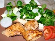 ActiFry grilowane piersi z kurczaka z polną sałatą