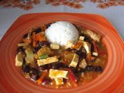 Wieprzowy wok z tofu