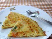 Ziemniaczano-warzywny omlet dla dzieci