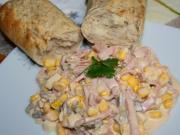 Delikatesowa kukurydziana sałatka