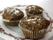 Makowo-marchewkowe muffiny