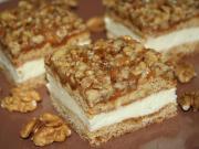Ciastka miodowe z orzechowym grylażem
