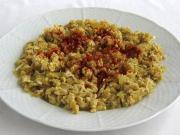 Duszona papryka z jajkiem