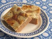 Jabłkowe ciasto z twarogiem