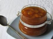 Brzoskwiniowy sos z cukrem trzcinowym