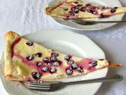 Twarogowe ciasto z winogronami