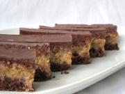 Rumowe ciasto z orzechami i kakao