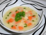 Gęsta selerowa zupa