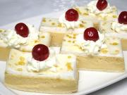 Twarogowo-karmelowe ciasto