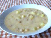 Słodko - kwaśna zupa z ziemniakami i ciecierzycą