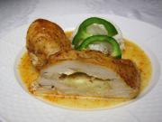 Marynowane piersi z kurczaka z mozzarellą