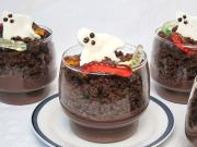 Budyniowy deser na Halloween