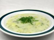Śmietanowo koperkowa zupa