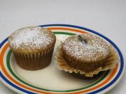 Miodowe muffiny ze śliwkami