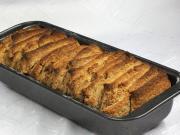 Cynamonowy chlebek w plasterkach