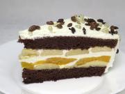 Śmietanowo-biszkoptowy tort