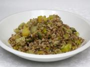 Gryczane risotto z fenkułem