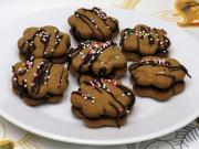 Gryczane bożonarodzeniowe ciasteczka