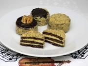 Orzechowe maślane torciki - ciasteczka